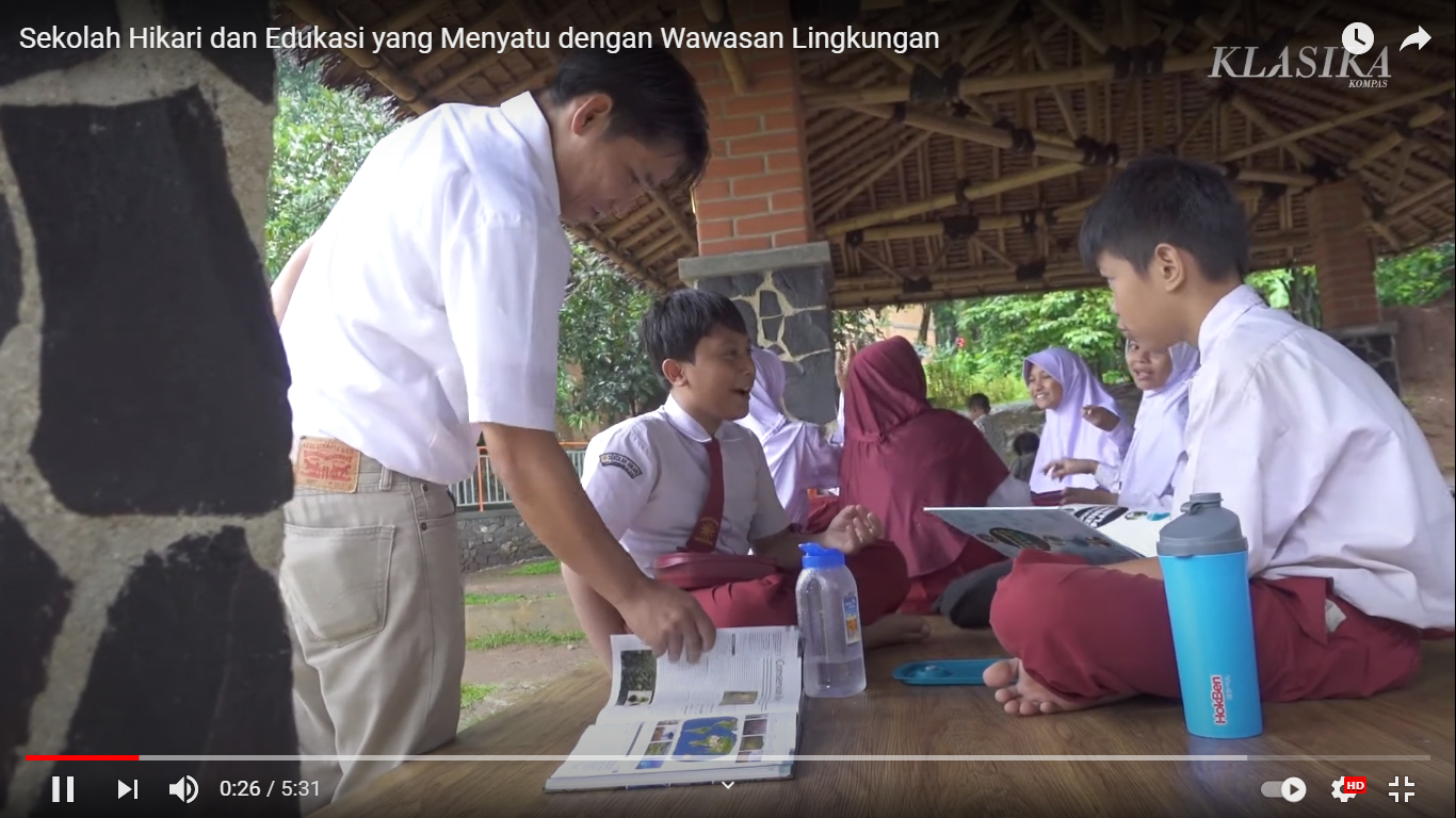 Sekolah Hikari dan Edukasi Wawasan Lingkungan